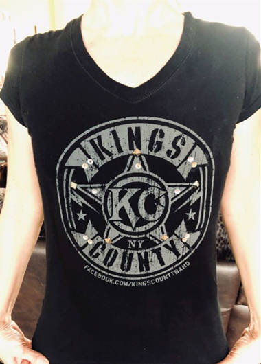 Kings County ladies v neck